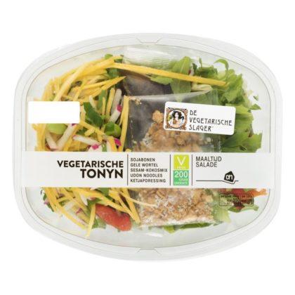 De Vegetarische slager lanceert de Vegetarisch Tonynsalade
