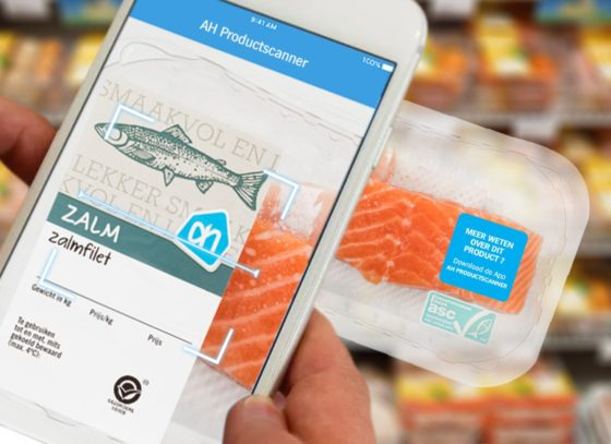 AH introduceert augmented reality productscanner
