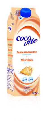 Lactose- en glutenvrije pannenkoekenmix Cocovite