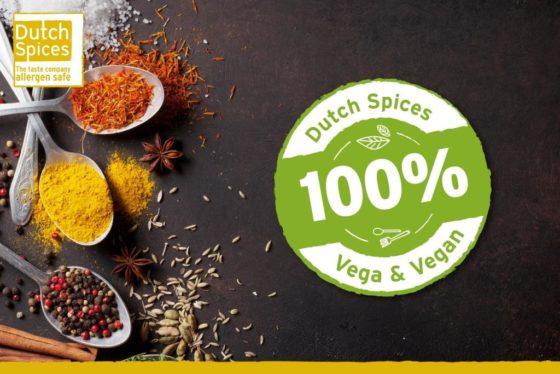 Dutch Spices 100% vega & 100% vegan