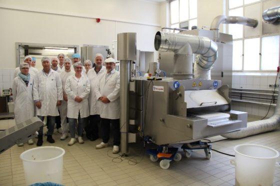 Food Pilot beschikt nu ook over een cryogene koel- en vrieslijn