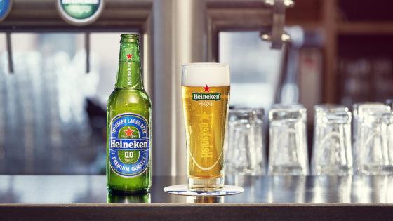 Heineken 0.0: dubbel gebrouwen, alcohol verwijderd aan eind brouwproces
