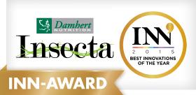 Insecta van Damhert Nutrition wint INN Award 2015