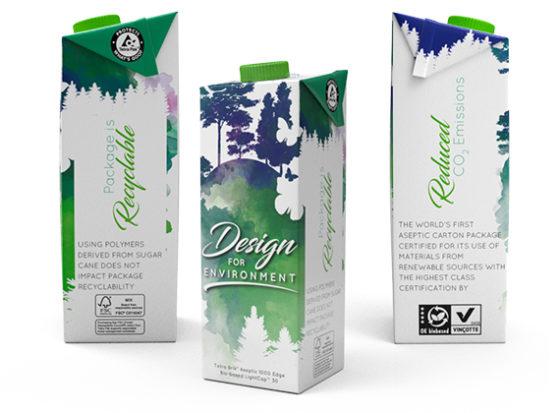 Tetra Pak gaat voor volledig hernieuwbare drankverpakking