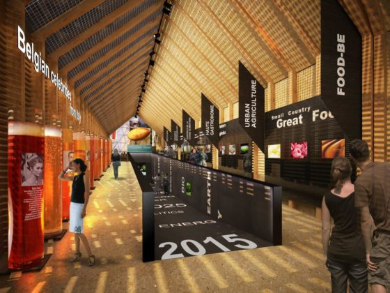 Food.be rode draad in Belgisch Paviljoen Expo 2015