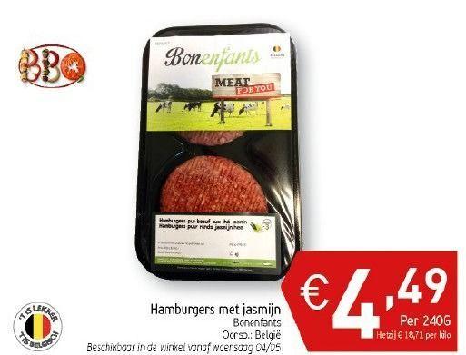 Belgisch vleesgamma met 30% groenten
