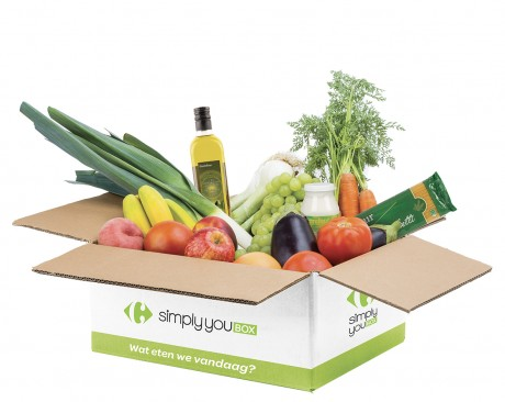 Carrefour start met Simply You Box