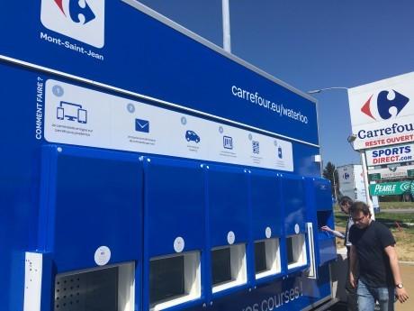 Carrefour lanceert geautomatiseerde drive