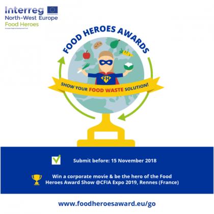 Inschrijven voor de Food Heroes Awards kan nog steeds