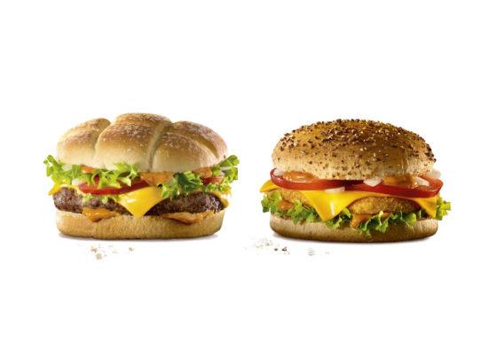 Quick en Devos Lemmens presenteren nieuwe hamburgers