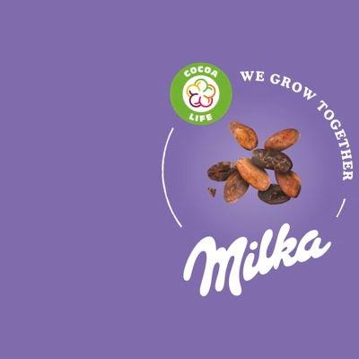 Milka Chocolade stapt mee in duurzaamheids-programma Cocoa Life
