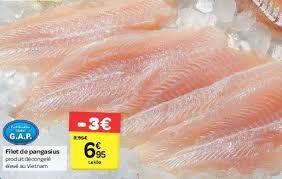 Carrefour stopt met pangasius