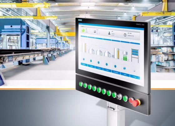 Siemens HMI-apparaat met IP65-bescherming