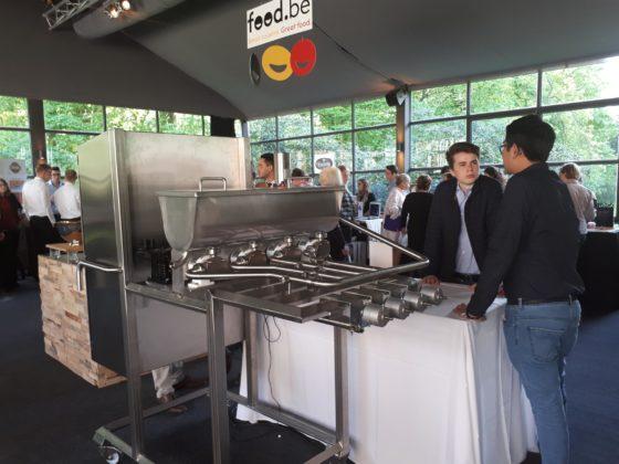 Vrije Technische Scholen Sint-Niklaas wint Food at Work Techno Awards