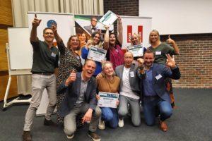 Studenten winnen Food at Work Innovatiedag met To Go Saladebox